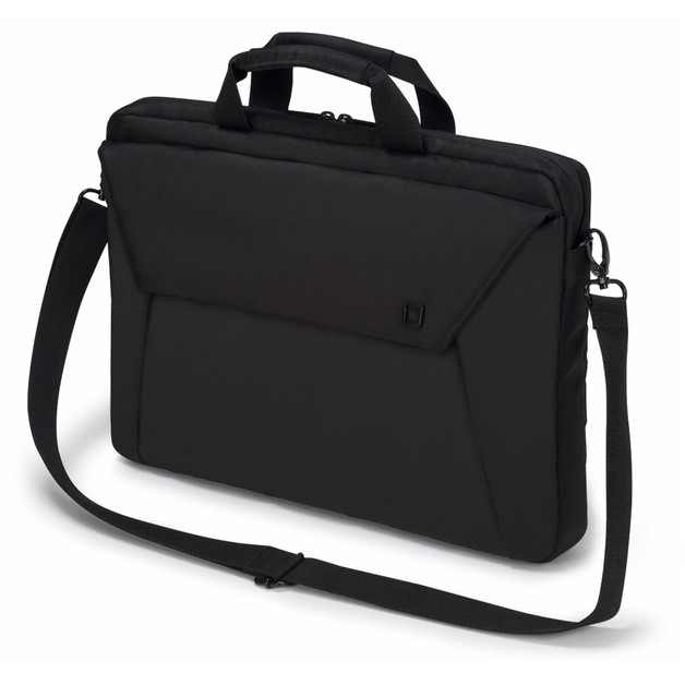 "Dicota Slim Case EDGE Carry Bag with shoulder strap for 14"" - 15.6"" Notebook /Laptop (Black)"