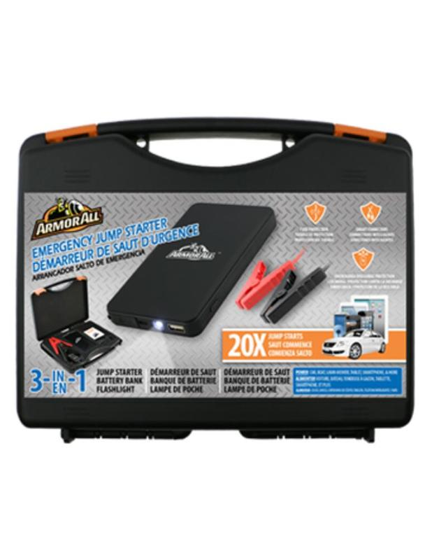 Armor All: Jump Starter Kit & Power Bank (6,000mAh)