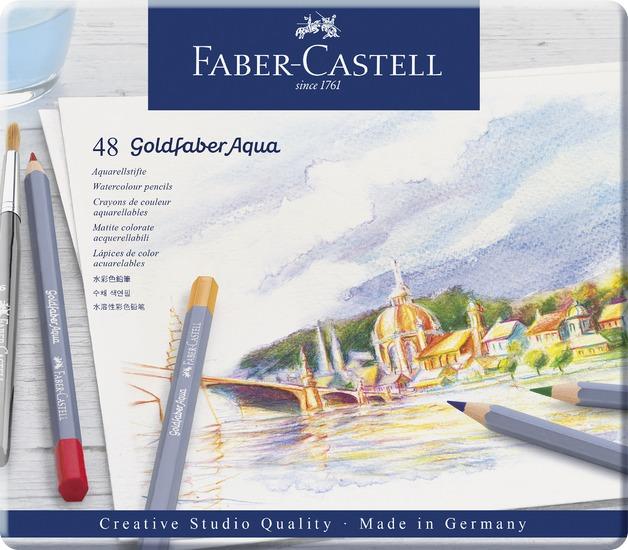 Faber-Castell: Goldfaber Aqua (Tin of 48)