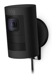 Ring Stick Up Camera Wired Camera - Black