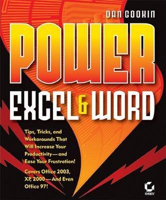 Power Excel and Word by Dan Gookin image