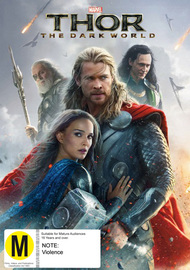 Thor: The Dark World on DVD image