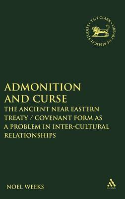 Admonition and Curse by Noel Weeks image