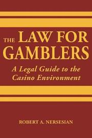 The Law for Gamblers by Robert Nersesian