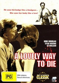 A Lovely Way to Die on DVD
