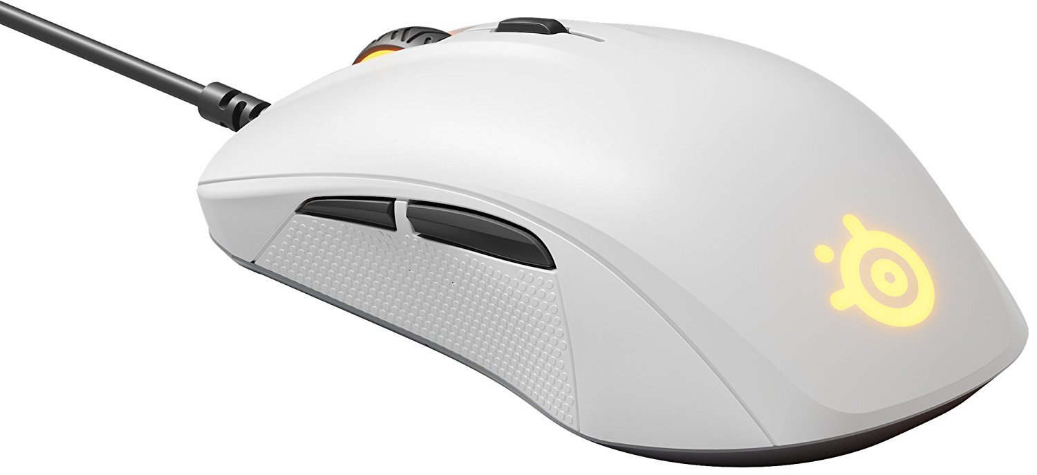 SteelSeries Rival 110 Gaming Mouse - White for PC Games image