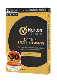 Norton Security Small Business for Ten Devices - 1 Year License