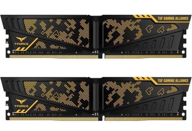 2x8GB Team VULCAN TUF Gaming Alliance 3000MHz DDR4 Gaming RAM
