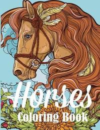 Horses Coloring Book by Creative Coloring
