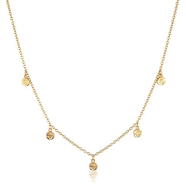 El & Ro: Liberty Necklace - Gold