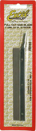 """Excel Fine Pull Out Razor Saw Blade (3/4""""x5"""")"""