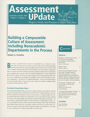 Assessment Update by Trudy W. Banta & Associates