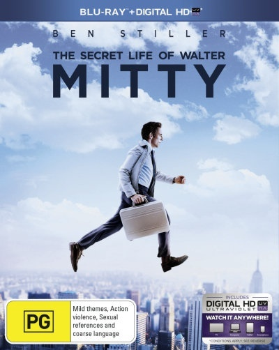 The Secret Life of Walter Mitty on Blu-ray