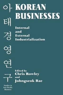 Korean Businesses: Internal and External Industrialization image