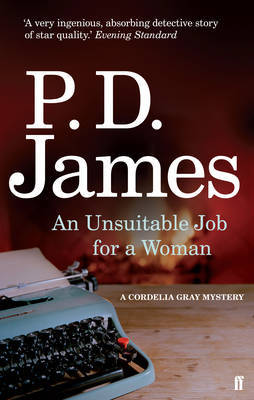 An Unsuitable Job for a Woman by P.D. James image