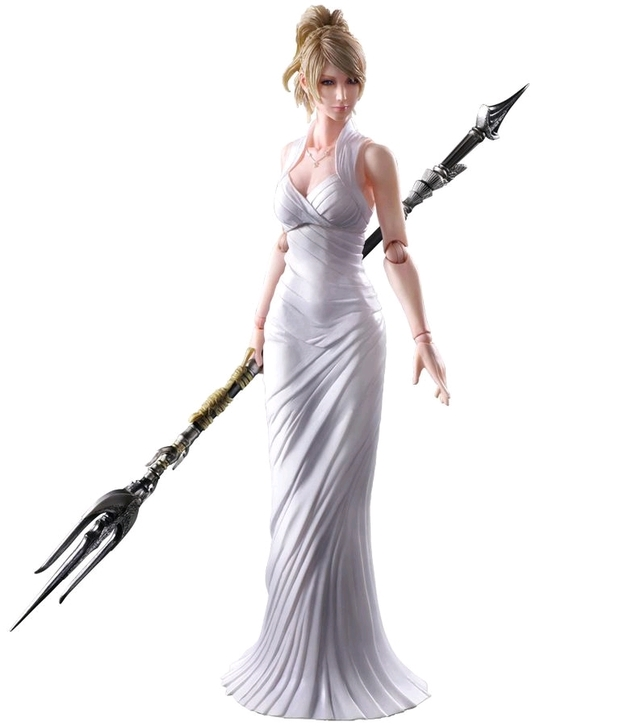 Final Fantasy XV: Lunafreya Nox Fleuret - Play Arts Kai Figure