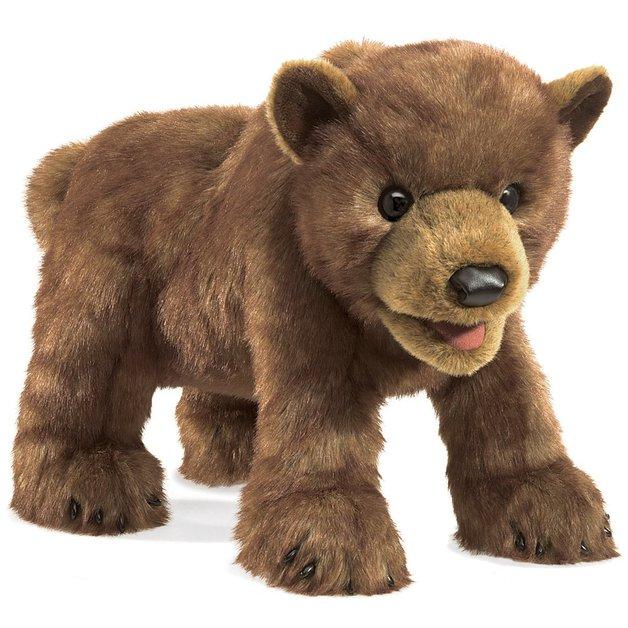 Folkmanis Hand Puppet - Brown Bear Cub