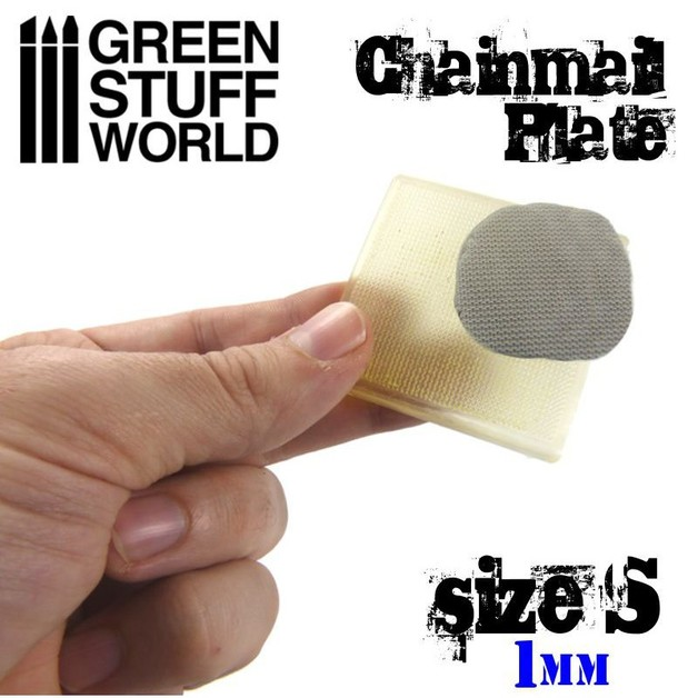Green Stuff World : ChainMail Texture Plate (Size S)