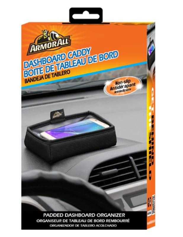Armor All: Padded Dashboard Organiser with Non Slip Grip