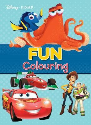 Disney Pixar Fun Colouring by Parragon Books Ltd