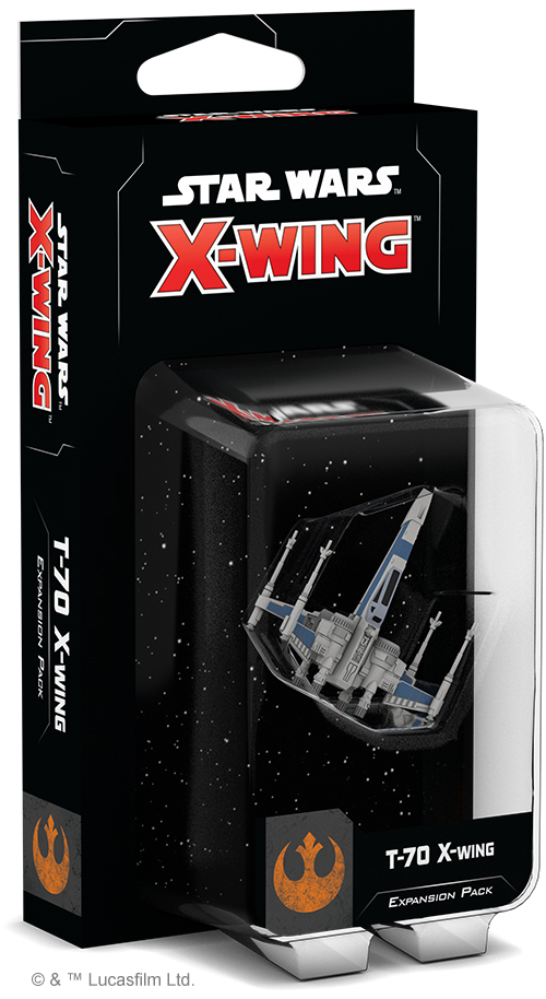 Star Wars X Wing 2nd Edition T-70 X Wing Expansion Pack image