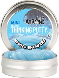 Crazy Aarons Thinking Putty: Spring Showers - Mini Tin