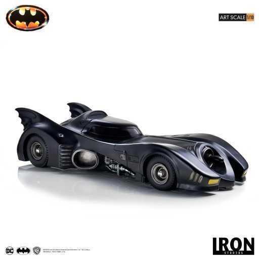 DC Comics: 1/10 Batmobile (1989) - Art Scale Statue image