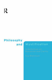 Philosophy and Mystification by Guy Robinson image