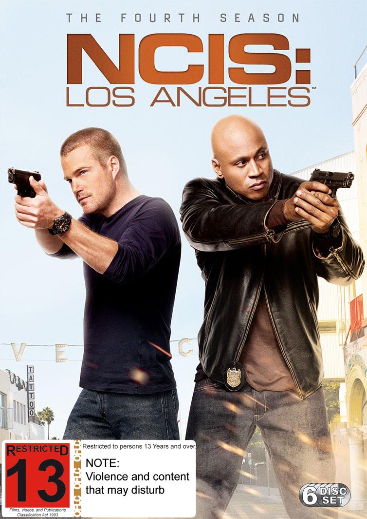 NCIS Los Angeles - The Fourth Season on DVD image