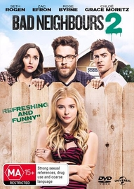 Bad Neighbours 2 on DVD