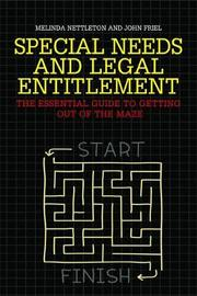 Special Needs and Legal Entitlement by John Friel