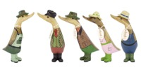 Dcuk: Country Ducklings - Set Of 5