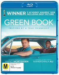 Green Book on Blu-ray