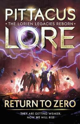 Return to Zero by Pittacus Lore image