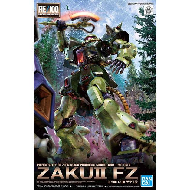 RE/100 1/100 Zaku II Kai - Model Kit