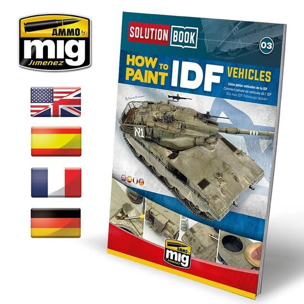 Ammo of Mig Jimenez IDF Vehicles Solution Book