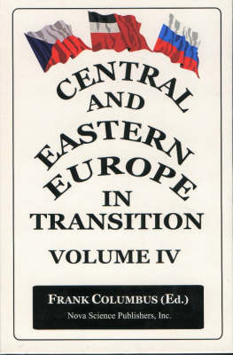 Central & Eastern Europe in Transition, Volume 4