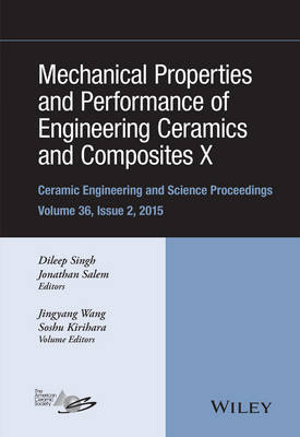 Mechanical Properties and Performance of Engineering Ceramics and Composites X by Jiyang Wang