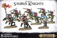 Warhammer Seraphon Saurus Knights