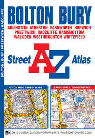 Bolton & Bury Street Atlas by Geographers A-Z Map Co Ltd