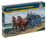 Italeri: 1:35 Hf.2 Schwerer Heeresfeldwagen - Model Kit