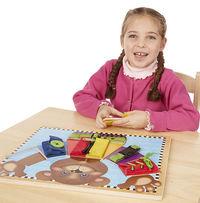 Melissa & Doug: Wooden Basic Skills Board image