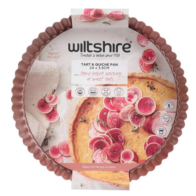 Wiltshire: Rose Gold Quiche & Tart Pan