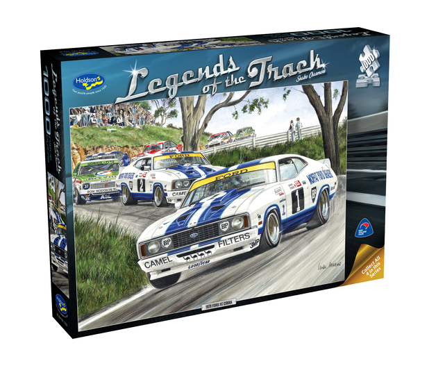 Holdson: 1000 Piece Puzzle - Legends of the Track (Snake Charmers)