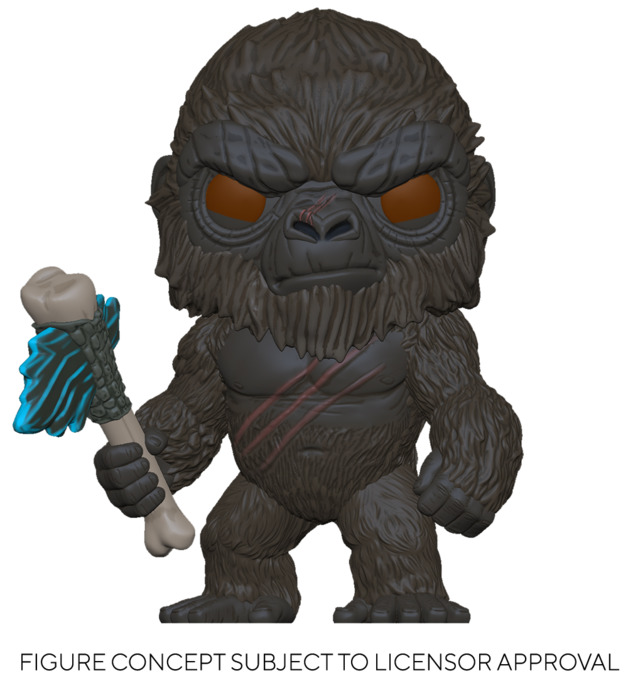 Godzilla vs Kong: Kong (with Scepter) - Pop! Vinyl Figure