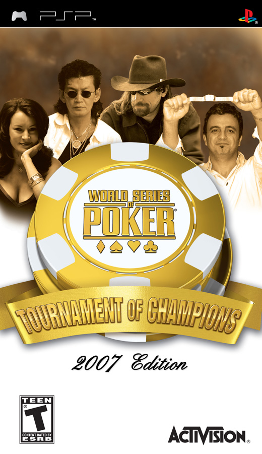 World Series of Poker 2007: Tournament of Champions for PSP image