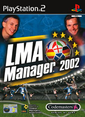 LMA Manager 2002 for PlayStation 2