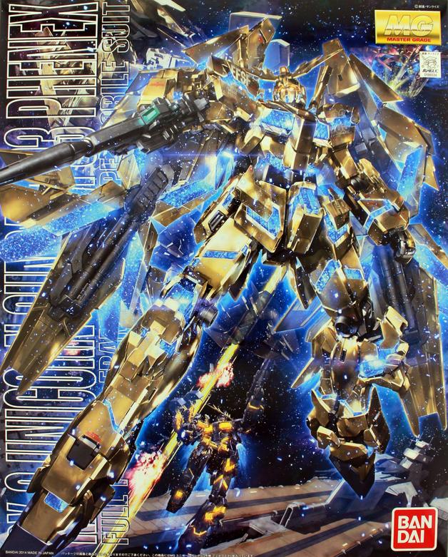 MG 1/100 Unicorn Gundam 03 Phenex (Fenix) - Model kit