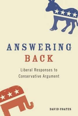 Answering Back by David Coates image