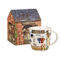 Queens At Your Leisure Horse Rider Squash Mug In Box (400ml)